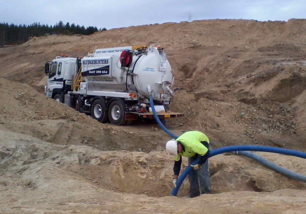 Hydro Excavation Ballarat - Sludgebusters